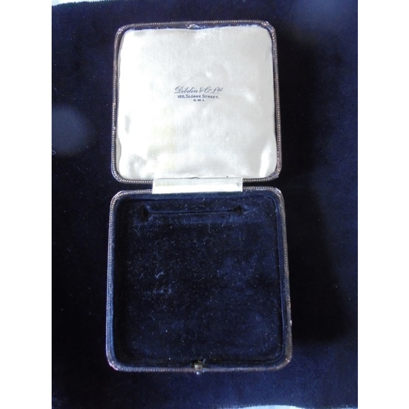Medal Box. Fitted case for Br. | Wellington Auctions
