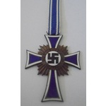 Germany. Third Reich. Mothers Cross in bronze.