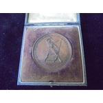 Coorg Medal, a bronze striking in an original fitted box of issue. Good very fine
