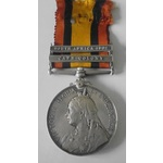 A Queen's South Africa Medal 1899-1902, two clasps: Cape Colony, South Africa 1902, awarded to Pr...