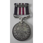 A Military Medal to Fusilier A. Thomas, Royal Fusiliers, awarded for the crossing of the River Gi...