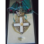 Italy - Republic of: Order of Merit of the Italian Republic, Commander Grade neck badge, gilt and...