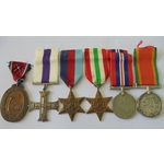 A Senio River Crossing Military Cross Group of 6 Medals to Major M.v.S. Boswell, London Irish Rifles