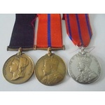 A Jubilee and Coronation Trio to Police Sergeant G. Garwood, P Division, Metropolitan Police.