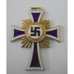 Germany. Third Reich. Mothers Cross in gold, no ribbon.