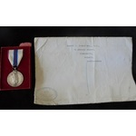 Silver Jubilee Medal 1977, unnamed as issued. With certificate of issue named to Samuel T. Booker...
