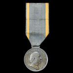 Duchy of Nassau Waterloo Medal 1815 fitted with the correct suspension. Scarce. The Waterloo Meda...