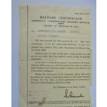 A Member of the Order of the Royal Victorian Order Group to Corporal M.H. McQueen, Honourable Art...
