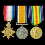 Great War 1914 Old Contemptible's trio awarded to Private S.S. Morgan, 2nd Battalion, Lincolnshir...