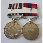 A Distinguished Conduct Medal and Military Medal pair to Sergeant W.J. Grant, 1st Battalion, Mach...