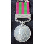 India General Service Medal 1895, clasp Relief of Chitral named to (3670 Pte T. Odell, 1st Bn Bed...