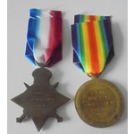 A 1914-15 Star and Victory Me. | Wellington Auctions