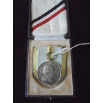 Germany. Imperial. Saxony. Military Order of St. Henry in silver, in fitted case of issue.