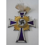 Germany. Third Reich. Mothers Cross in gold, some enamel damage.