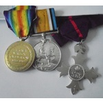 An MBE Group to Miss Elizabeth Mildred Shillington, Women's Legion and French Red Cross