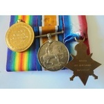 A 1914-15 Star Trio and Canad. | Wellington Auctions