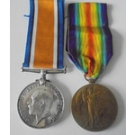 A Great War Pair to Private A. Smith, Rifle Brigade