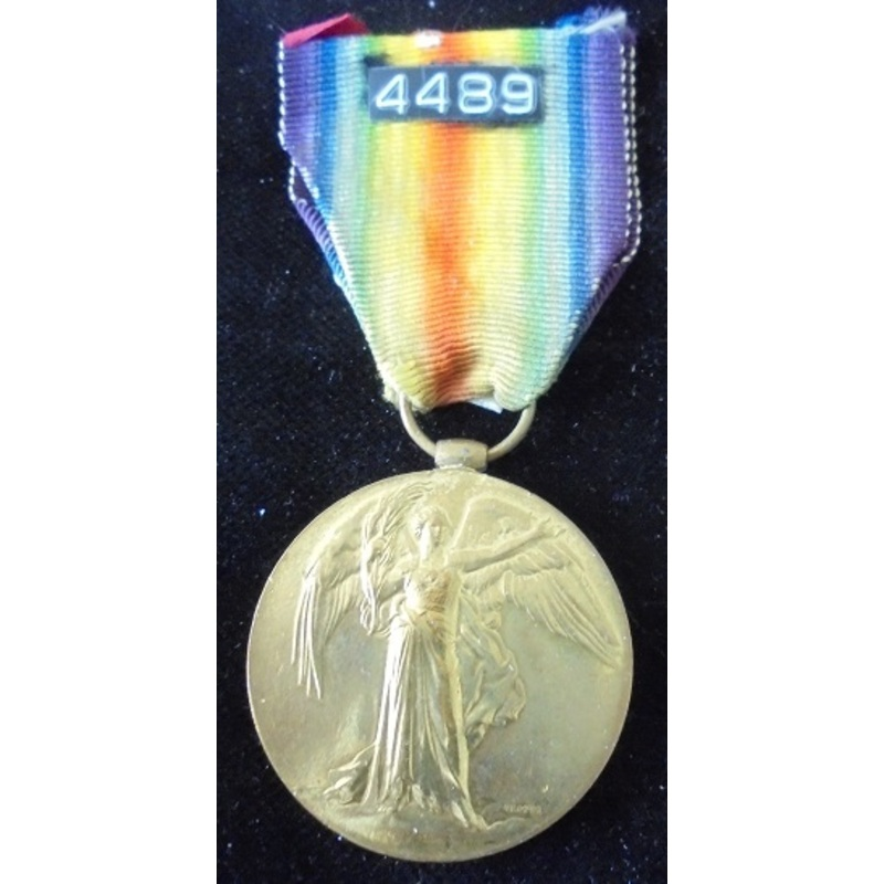 Victory Medal named to 4489 P. | Wellington Auctions