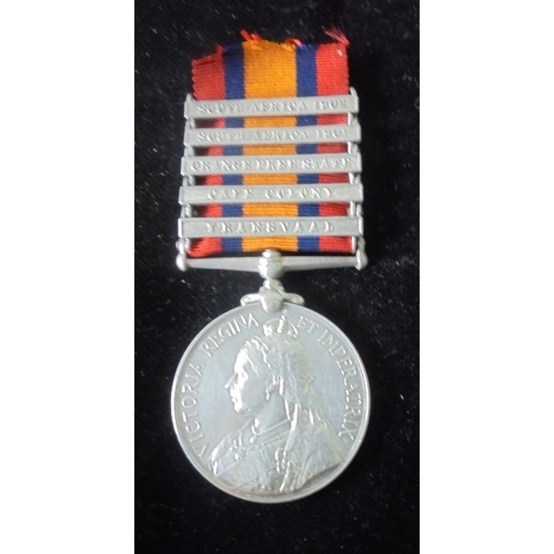Queens South Africa Medal, fi. | Wellington Auctions