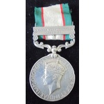 India General Service Medal 1936-1939, clasp: North West Frontier 1936-37; (7269 SEPOY MOHD. JAN....