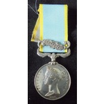 Crimea Medal, clasp Sebastopol, impressed naming (M. HALPIN 18th REGT). Michael Halpin was most l...