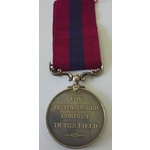 An Excellent Distinguished Conduct Medal to Driver T.B. Joslin, 12th Battery, Royal Field Artille...