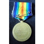 Victory Medal named (83495 SJT. W.G. KINGSTON. R.A.M.C.) Information supplied by the vendor indic...