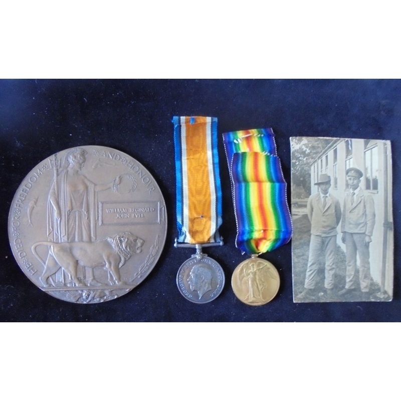 Private W. Evel, Royal Fusili. | Wellington Auctions