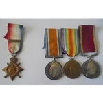 Medals to the Burberry Brothers, both members of the 15th Hussars.