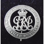 Silver War Badge numbered 467339 as issued to 202477 Private T. Brown, Lancashire Fusiliers, who ...