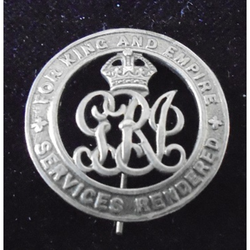 Silver War Badge numbered 467. | Wellington Auctions