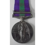 General Service Medal 1918-1962, GVI 1st type bust, clasp Palestine 1945-48, awarded to Trooper D...