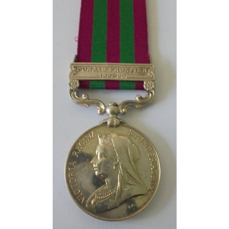 An India General Service Meda.   Wellington Auctions