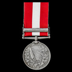Canada General Service Medal awarded to Domestic George Faulkner, Royal Navy, who was serving abo...
