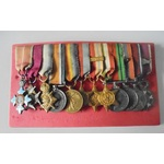 Unattributed Group of 12 Miniature Medals comprising; Knight of the Order of the British Empire (...