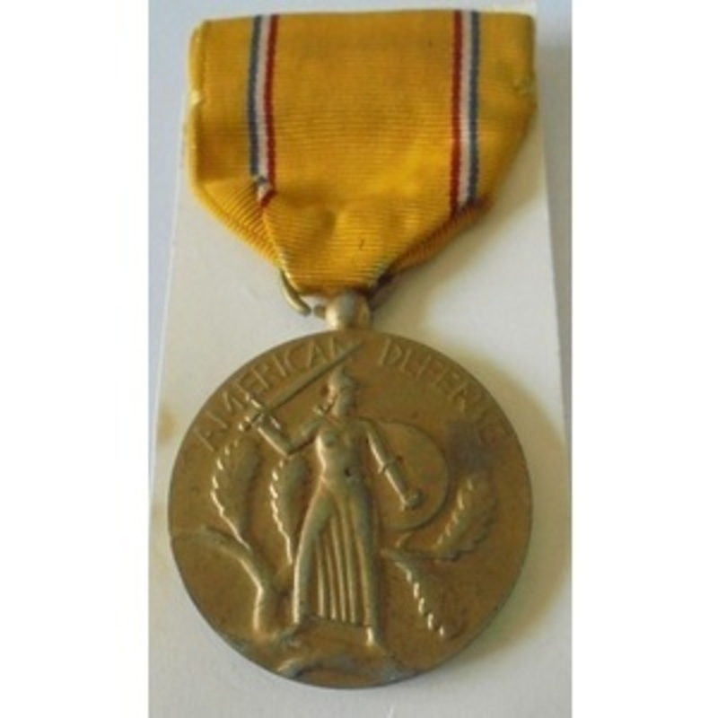 USA. American Defense Medal. . | Wellington Auctions