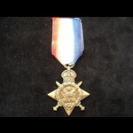 1914 STAR to  PTE Charles George SHEAR 12th LANCERS - Transferred to the Army Veterinary Corps in...