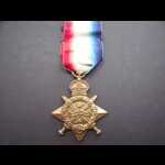 1914 STAR to PTE THORNLOE 1st. | Great War Medals