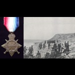 1914/15 STAR to L.CPL PAUL 2nd ESSEX REGT - To Gallipoli on first day of the landings 25/4/15 & K...