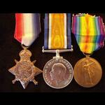 1914 Trio to DMR / PTE RANDALL 2nd South Lancashire Regt with 3 Letters of Condolence/Bestowal (K...