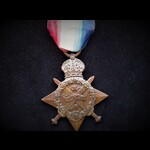 1914 STAR  to CPL Gordon Lemuel DELL  R.A.M.C. KIA F&F 23/5/18 whilst serving as  Serjeant with 1...