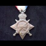 1914/15 STAR to PTE Charles  LEWIS MIDDX.R 1/8th Middlesex Regt-T.F. Gassed at Zonnebeke during 2...