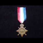 1914/15 STAR to PO-12605 PTE George Thomas BATCHELOR R.M.L.I. Served on Defensively Armed Merchan...