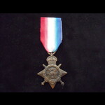 1914 STAR to CPL Percy Brooking METCALF 13th Depot Unit of Supply, Army Service Corps - awarded t...