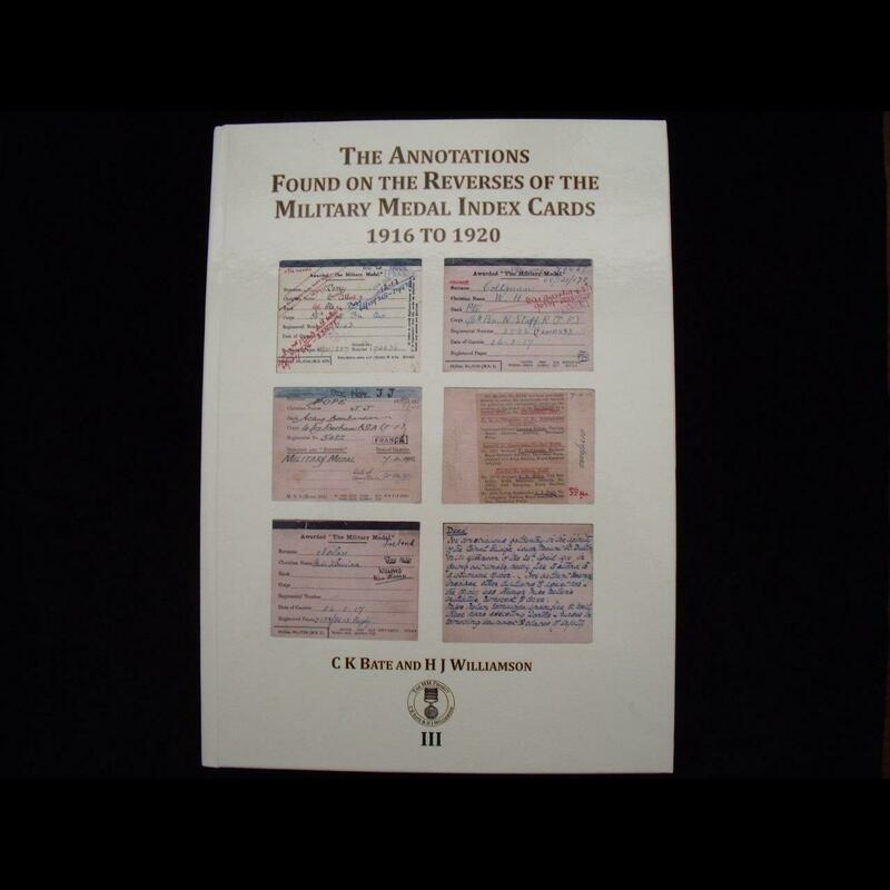 THE ANNOTATIONS FOUND ON THE . | Great War Medals