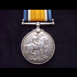 BRITISH WAR MEDAL to PTE Ebenezer JENKINS 8th King's Own Yorkshire Light Infantry - KIA F&F 1/7/1...