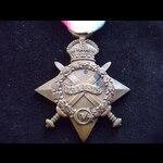1914/15 STAR to LIEUT WEARNE 8th CAN.INF. - Wounded 2nd Ypres 1915
