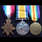 1914 TRIO to PTE WEST COLDSTREAM GUARDS
