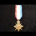 1914/15 STAR to PTE  NEL  BOTHA'S NATAL HORSE - Served in the Maritz Rebellion 1914 & in German S...