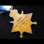 1914/15 STAR to 14050 PTE George HORROCKS  12th LIVERPOOL REGT - Served on the Western Front  in ...